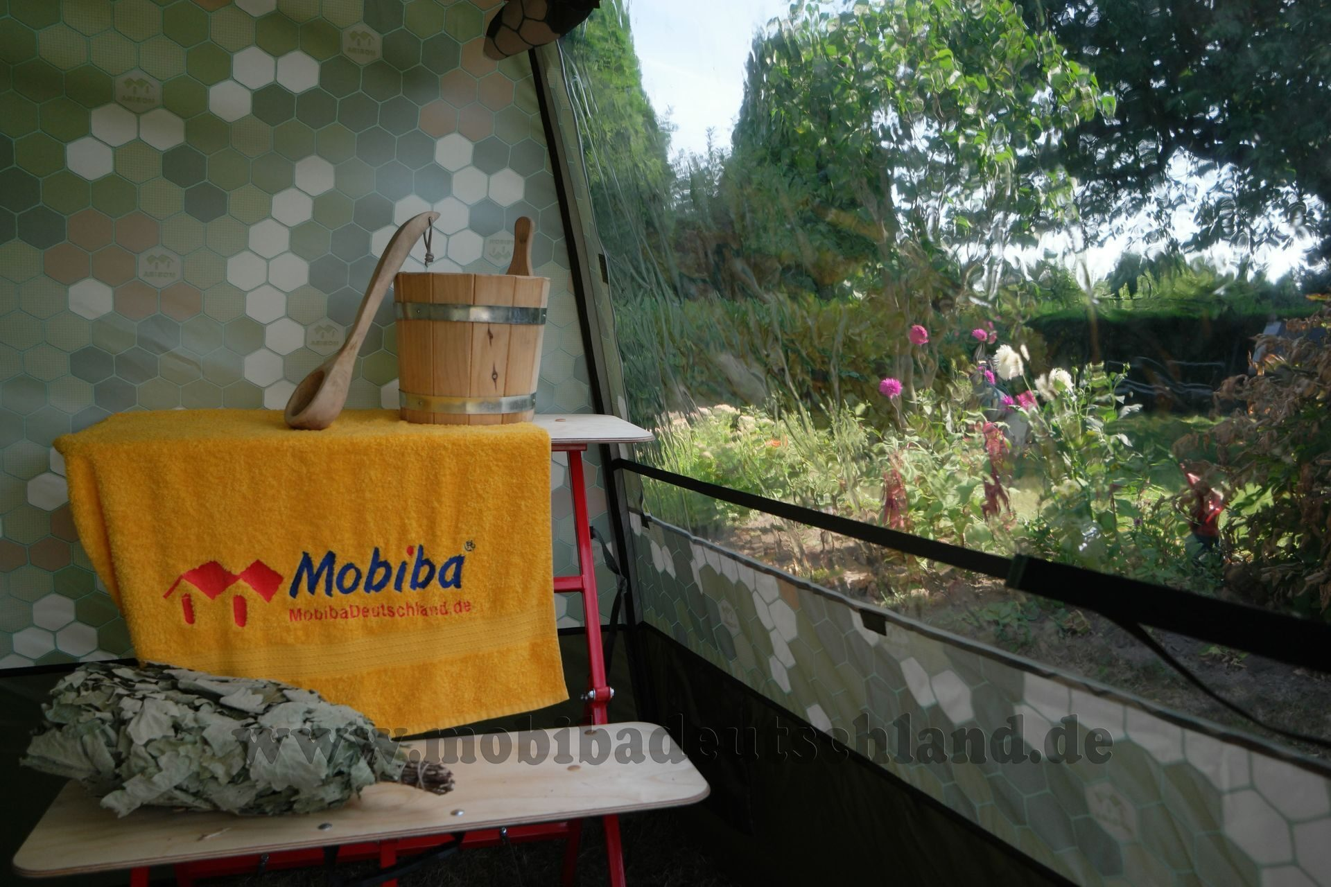 mobile sauna mb 10 aquarium 1 fenster preis bilder. Black Bedroom Furniture Sets. Home Design Ideas